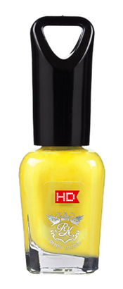 Лак для ногтей Kiss HD Mini Nail Polish MNP02 (Цвет MNP02 Вкусный Банан  variant_hex_name FBF16B)