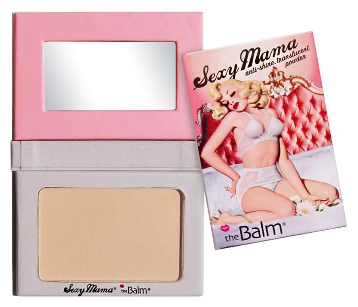 Пудра theBalm Sexy Mama Anti-Shine Translucent Powder (Цвет Sexy Mama variant_hex_name DEB798)