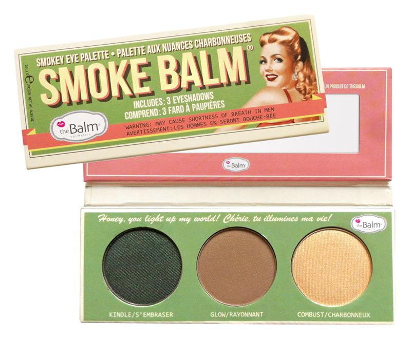 Для глаз theBalm Smoke Balm Eyeshadow Palette #2 (Цвет Set Two variant_hex_name A67B5C)