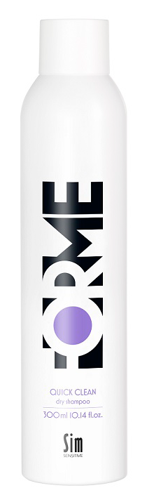 Сухой шампунь Sim Sensitive Forme Quick Clean Dry Shampoo (Объем 300 мл)