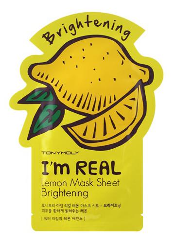 Купить I'm Real Lemon Mask Sheet 21 мл TMO-SS05039800