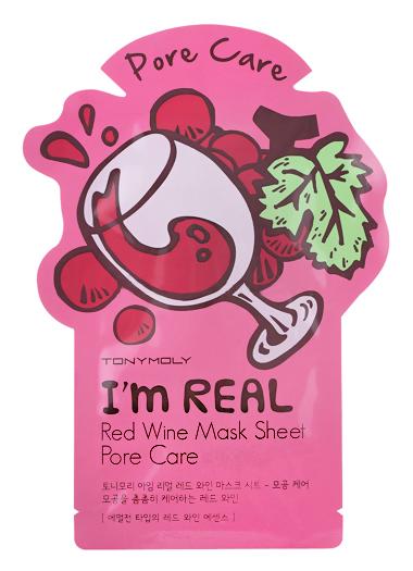 Купить I'm Real Red Wine Mask Sheet 21 мл TMO-SS05039900