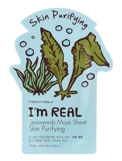 Тканевая маска Tony Moly Im Real Seaweeds Mask Sheet (Объем 21 мл)