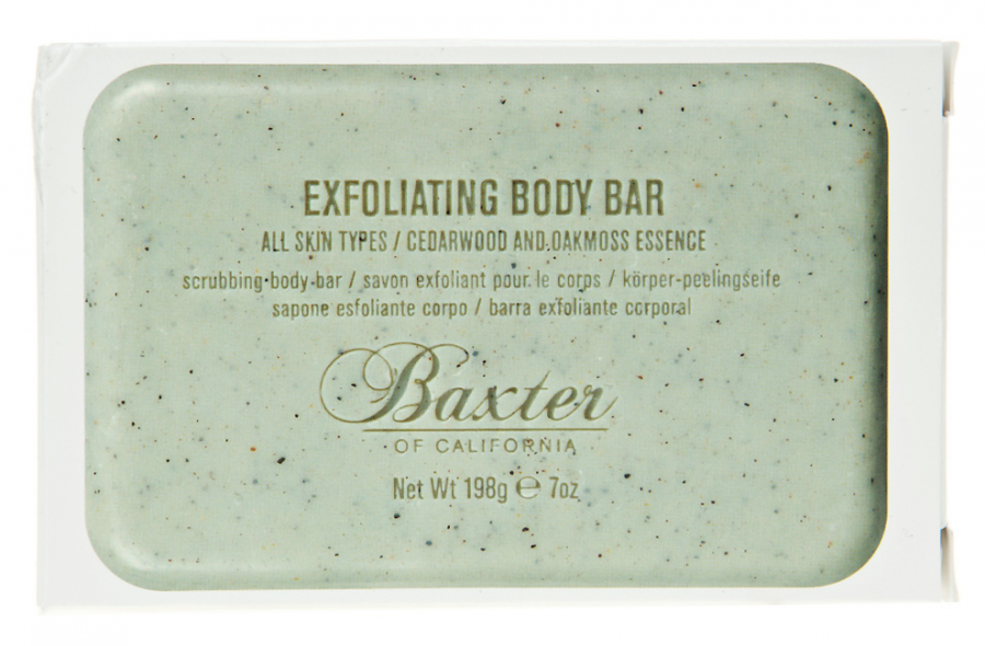 Отшелушивание Baxter of California Мыло-скраб Exfoliating Body Bar (Объем 198 г)