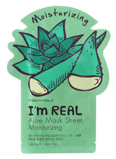 Купить I'm Real Aloe Mask Sheet 21 мл TMO-SS05037800