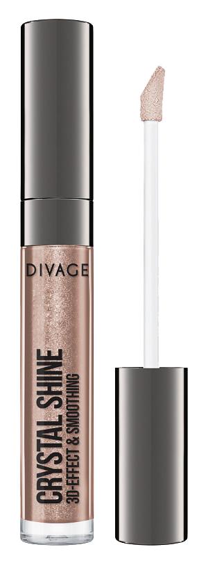 Блеск для губ Divage Crystal Shine 02 (Цвет 02 variant_hex_name 967063)