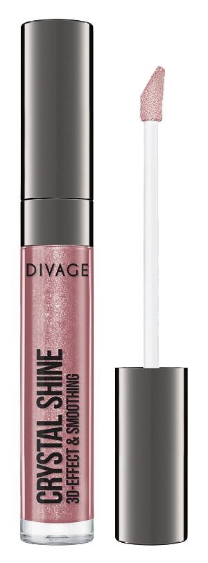 Блеск для губ Divage Crystal Shine 04 (Цвет 04 variant_hex_name A2636B)