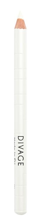 Карандаш для глаз Divage Khol Kajal Milky White (Цвет Milky White variant_hex_name F9F6E3)