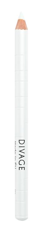 Карандаш для глаз Divage Khol Kajal White (Цвет White variant_hex_name F4F4F4)