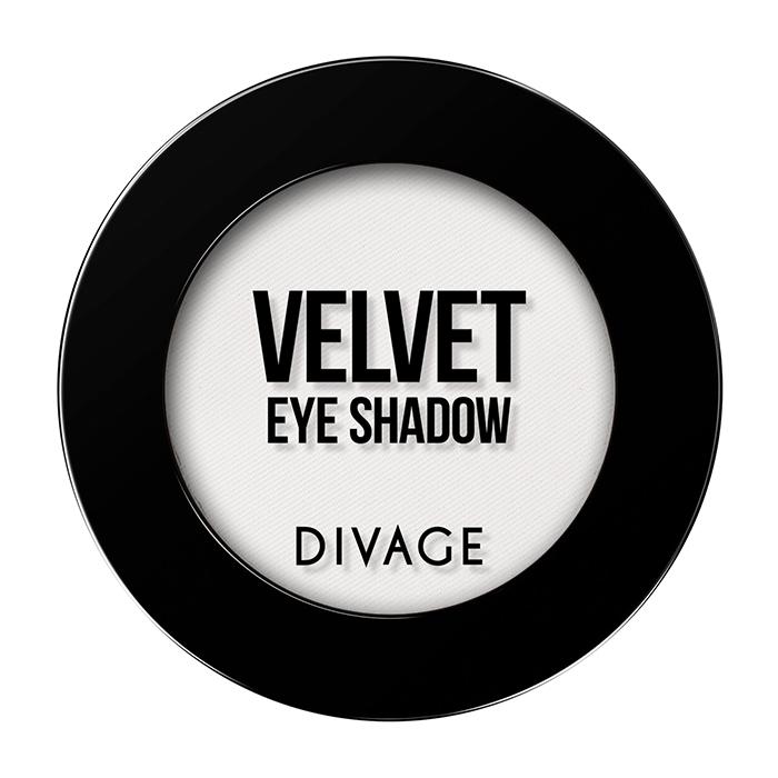 Тени для век Divage Velvet 03 (Цвет 7303 variant_hex_name EDE9E8)