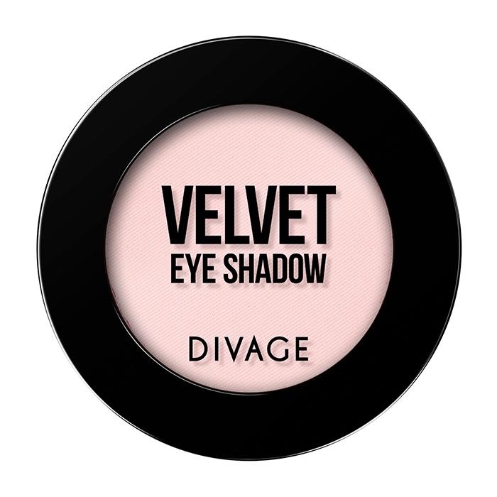 Тени для век Divage Velvet 06 (Цвет 7306 variant_hex_name F9CDCC)