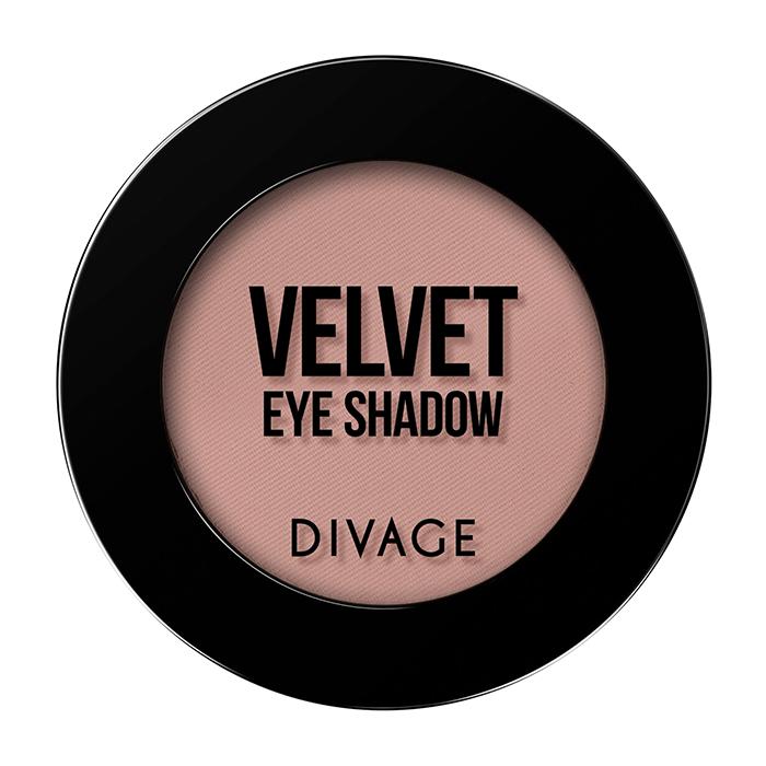 Тени для век Divage Velvet 07 (Цвет 7307 variant_hex_name BE8D86)
