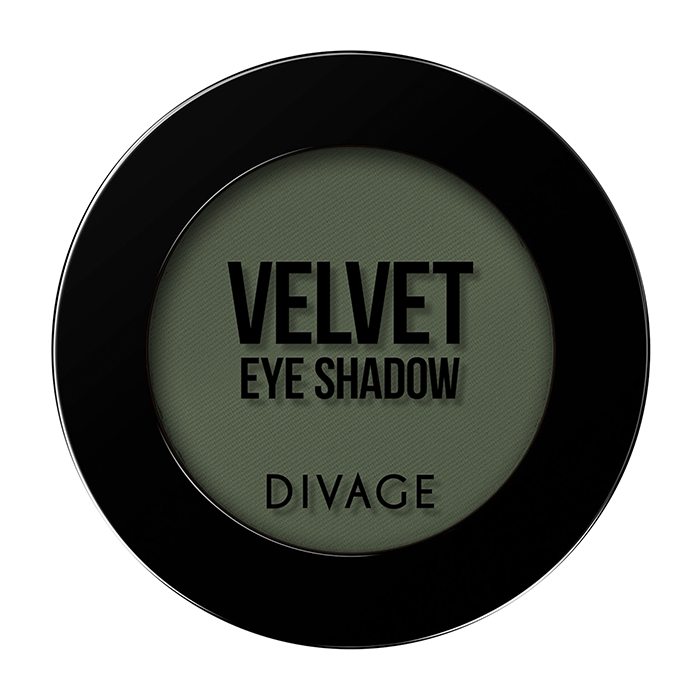 Тени для век Divage Velvet 11 (Цвет 7311 variant_hex_name 5C6550)
