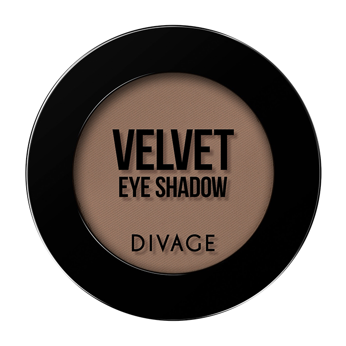 Тени для век Divage Velvet 16 (Цвет 7316 variant_hex_name 916C5C)