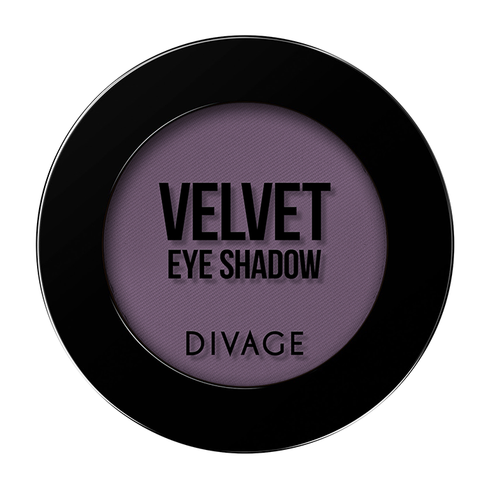 Тени для век Divage Velvet 17 (Цвет 7317 variant_hex_name 715B72)