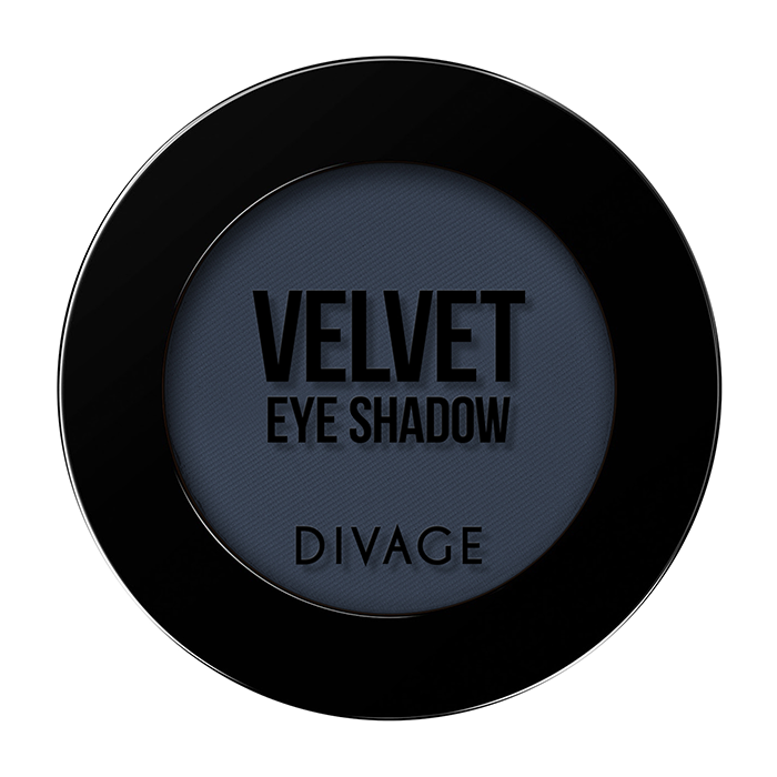 Тени для век Divage Velvet 19 (Цвет 7319 variant_hex_name 343D4E)