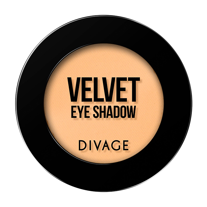 Тени для век Divage Velvet 20 (Цвет 7320 variant_hex_name FFBF8B)