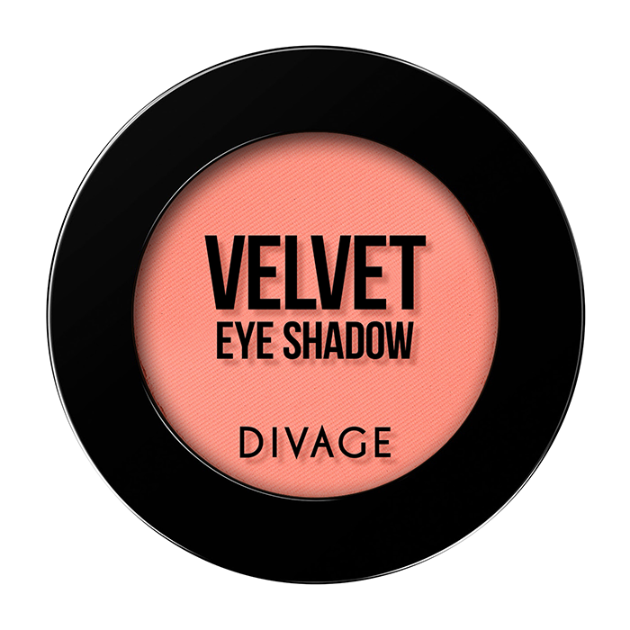 Тени для век Divage Velvet 21 (Цвет 7321 variant_hex_name FB8176)