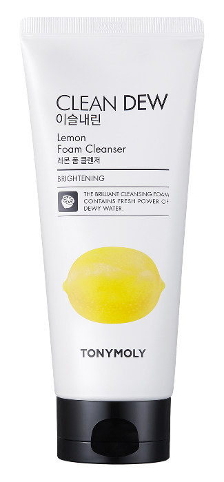 Пенка Tony Moly Clean Dew Lemon Foam Cleanser (Объем 180 мл)