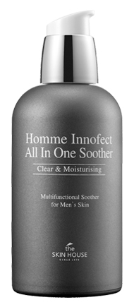 Увлажнение The Skin House Homme Innofect Control All-In-One Soother (Объем 130 мл)
