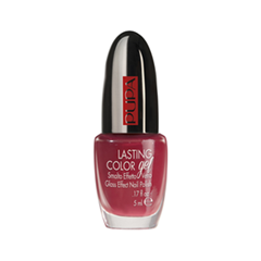 Гель-лак для ногтей Pupa Lasting Color Gel 100 (Цвет 100 Tropical Red variant_hex_name CF3B55)