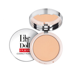 Like a Doll Compact Powder 04 (Цвет 04 Warm Biege variant_hex_name F0C29D Вес 50.00)