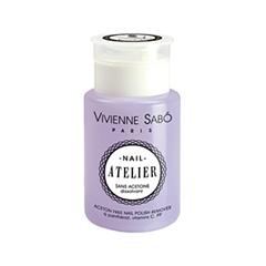 Средства для снятия лака Vivienne Sabo Жидкость для снятия лака без ацетона Nail Atelier (Объем 150 мл)