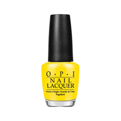 Лак для ногтей OPI Nail Lacquer Brazil Collection I Just Can't Cope-acabana (Цвет I Just Can't Cope-acabana variant_hex_name FDDE07)