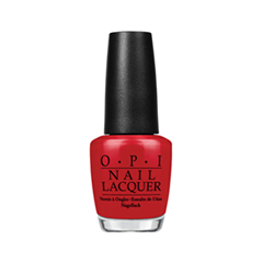 Лак для ногтей OPI Nail Lacquer Brazil Collection Red Hot Rio (Цвет Red Hot Rio variant_hex_name B21621)