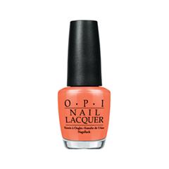 Лак для ногтей OPI Nail Lacquer Brazil Collection Where Did Suzi's Man-go? (Цвет Where Did Suzi's Man-go? variant_hex_name F17252)