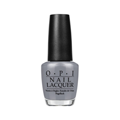 Лак для ногтей OPI Nail Lacquer Fifty Shades of Grey Collection Embrace the Gray (Цвет Embrace the Gray variant_hex_name 8D8D99)