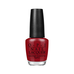 Лак для ногтей OPI Nail Lacquer Fifty Shades of Grey Collection Romantically Involved (Цвет Romantically Involved variant_hex_name 8F131D)