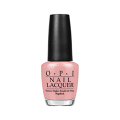 Лак для ногтей OPI Nail Lacquer Germany Collection My Very First Knockwurst (Цвет My Very First Knockwurst variant_hex_name E2A2A2)