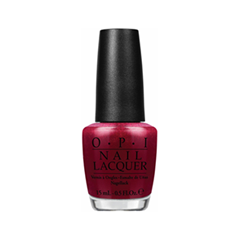 Лак для ногтей OPI Nail Lacquer Gwen Stefani Holiday Red Fingers  Mistletoe variant_hex_name AC173C)