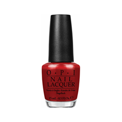 Лак для ногтей OPI Nail Lacquer Gwen Stefani Holiday Whats Your Point-Settia (Цвет Whats Your Point-Settia  variant_hex_name 93191B)