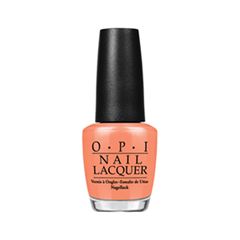 Лак для ногтей OPI Hawaii Collection H68 (Цвет H68 Is Mai Tai Crooked? variant_hex_name F57A5B)