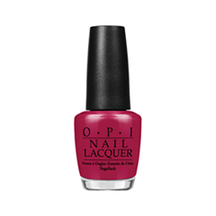 Лак для ногтей OPI Nail Lacquer Classic Collection Bastille My Heart (Цвет Bastille My Heart variant_hex_name 8F0E34)