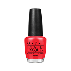 Лак для ногтей OPI Nail Lacquer Classic Collection Color So Hot It Berns (Цвет Color So Hot It Berns  variant_hex_name F12832)