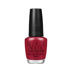 Лак для ногтей OPI Nail Lacquer Classic Collection Got the Blues for Red (Цвет Got the Blues for Red variant_hex_name 981A2F)
