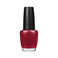 Лак для ногтей OPI Nail Lacquer Classic Collection L87 (Цвет L87 Malaga Wine variant_hex_name 7A1F2E)