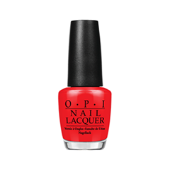 Лак для ногтей OPI Nail Lacquer Classic Collection N25 (Цвет N25 Big Apple Red variant_hex_name C9222A)