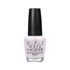 Лак для ногтей OPI Nail Lacquer Soft Shades Collection Chiffon My Mind (Цвет Chiffon My Mind variant_hex_name FCF7FB) лак для ногтей opi holland collection h63 цвет h63 vampsterdam variant hex name 3a122a