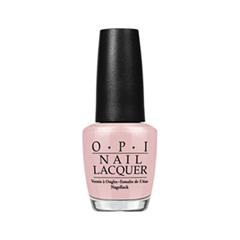 Лак для ногтей OPI Nail Lacquer Soft Shades Collection Put it in Neutral (Цвет  Put it in Neutral  variant_hex_name E1BDBE) лак для ногтей opi holland collection h63 цвет h63 vampsterdam variant hex name 3a122a