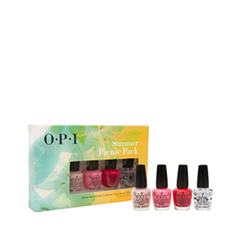 Набор для маникюра OPI Набор Summer Picnic Pack (Объем 4x3.75 мл)