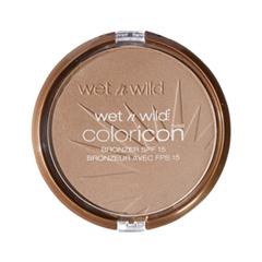 Бронзатор Wet n Wild Color Icon Bronzer SPF 15 E739 (Цвет  E739 Ticket to Brazil variant_hex_name B79782) бронзатор wet n wild color icon bronzer spf 15 e740 цвет e740 bikini contest variant hex name c09a8d