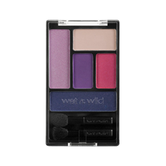 Тени для век Wet n Wild Color Icon Eye Shadow Palette 393A (Цвет 393A Floral Values variant_hex_name AF87A2)