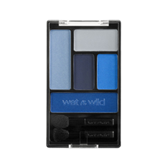 Тени для век Wet n Wild Color Icon Eye Shadow Palette 394A (Цвет 394A Im His Breezey variant_hex_name 91A8C7)