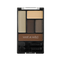 Тени для век Wet n Wild Color Icon Eye Shadow Palette 395A (Цвет 395A The Naked Truth variant_hex_name B3A58A)