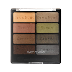 Тени для век Wet n Wild Color Icon Eyeshadow Collection 738 (Цвет 738 Comfort Zone variant_hex_name 9C8573)