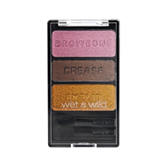 Тени для век Wet n Wild Color Icon Eyeshadow Trio 334 (Цвет 334 Im Getting Sunburned variant_hex_name C3916E)